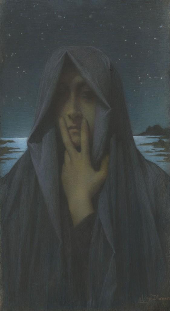 """Lucien-Lévy-Dhurmer """"Le Silence"""""""